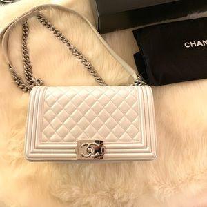 Chanel old medium Le Boy bag